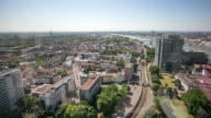 4K Time-lapse: Aerial Cologne cityscape Germany video