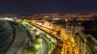Time-lapse: Aerial View of Nice Harbour French Riviera France video