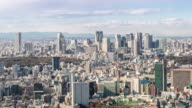 4K Time-lapse: aerial View of Shinjuku Tokyo Cityscape video