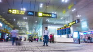 Timelapse : Airport Passenger Terminal video