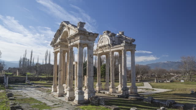 Time-Lapse Aphrodisias, Turkey video