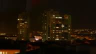 Timelapse at Ankara at Night video