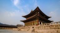 Timelapse at Gyeongbokgung Palace, Seoul, South Korea, 4K Time lapse video