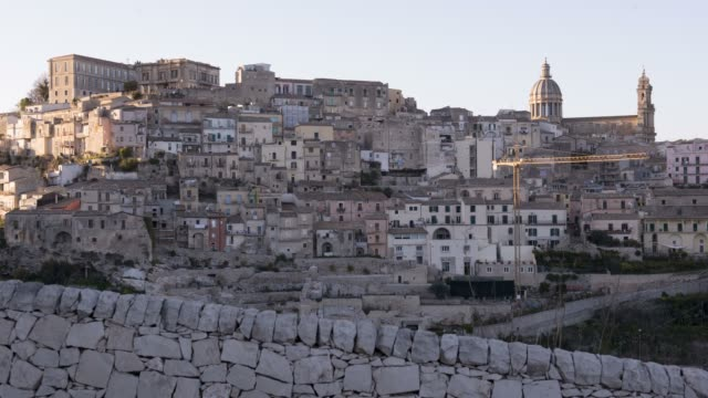 Timelapse at Ragusa Ibla (italy) video