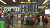 HD Timelapse at singapore airport video