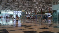 Time-lapse at Singapore airport video