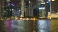 Timelapse at singapore city video