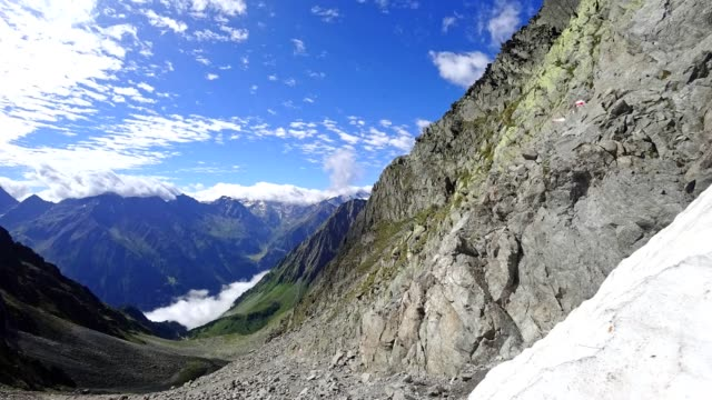 Time-lapse: Austrian Alps in Stubaital in summer video