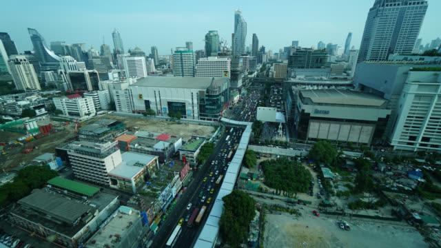 4K Time-lapse : Bangkok city in Thailand video