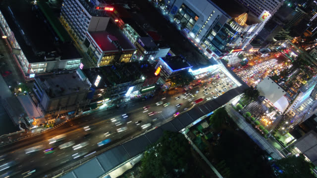 4K Time-lapse : Bangkok city in Thailand video