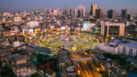 4K Time-lapse: Bangkok Downtown Skyline video