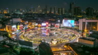 4K Time-lapse: Bangkok Downtown Skyline video