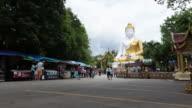 4K Timelapse: Big Buddha temple video