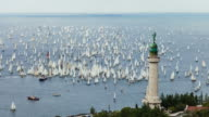 HD Timelapse: Biggest sailing regatta on the world Barcolana video