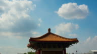Timelapse Bird Could Chinese temple video