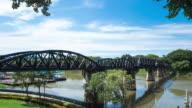 4K Timelapse: Bridge on the River Kwai video