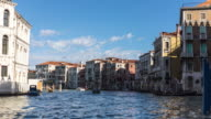 Timelapse Canal in venice video
