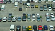 Time-lapse - Car parking lot video