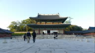 time-lapse Changdeokgung Palace, South Korea video