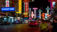 HD Timelapse : China Town video
