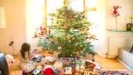 Timelapse: Christmas morning video