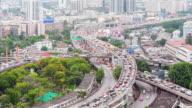 4K Time-lapse: City Traffic Jam video