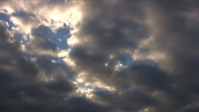Timelapse Clouds Over Germany video