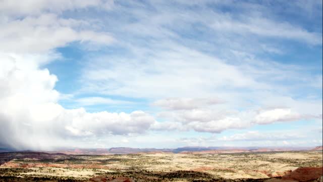 Timelapse Clouds Sky Utah Usa video