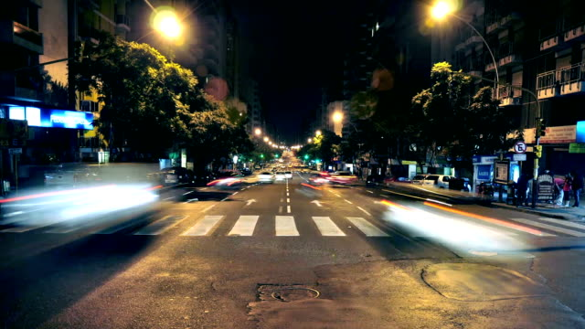 timelapse Córodba Argentina city avenue with traffic 1 video
