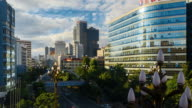 Timelapse Day to Night of Kunming Cityscape video