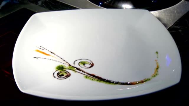 Timelapse Designing Food Plate video