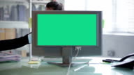 Timelapse desk chromakey   ID video