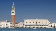 4K Timelapse Doge's palace and St. Marc's Campanile, Italy video