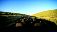 Time-lapse Driving in Napa Valley video