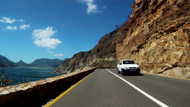 Timelapse driving up Chapman's Peak video