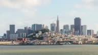Time-lapse for downtown San Francisco from the Alcatraz video