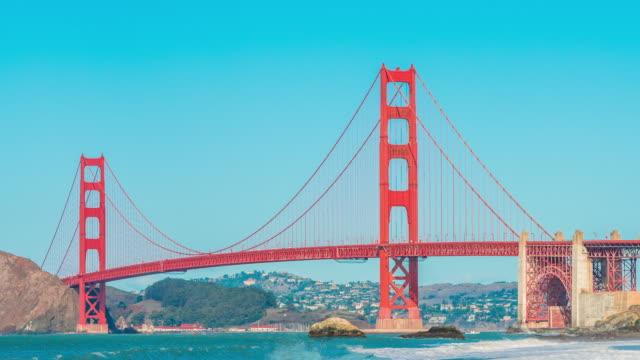 Time-lapse for Golden Gate Bridge, San Francisco video