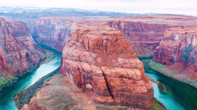 Time-lapse for Horseshoe Bend meander of Colorado River video