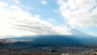 HD Time-lapse: Fujisan Landscape with cloud video