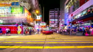 Time-lapse HD: Pedestrians at Tsim Sha Tsui Hong Kong video