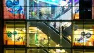 Time-lapse HD: Pedestrians Shopping Mall Hong Kong video