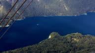 Timelapse - High angle view of a Bohinj lake video