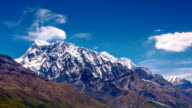 Timelapse Himalayas View from Annapurna Trail, Nepal video