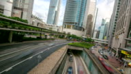 HD Time-lapse: Hong Kong Skyline Cityscape at Central video