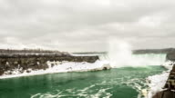 HD Time-lapse: Horseshoe Falls Niagara Falls, Ontario, Canada video