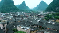 Timelapse Huang Yao village of China video