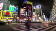 Timelapse ikebukuro district video