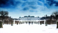 Time-lapse in Belvedere Palace video