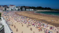 Timelapse - La Segunda beach (Santander) video