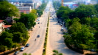 timelapse lao vientiane video